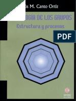 Jesús M. Canto Ortiz - Psicología de los grupos, estructura y procesos. 2 ed.pdf