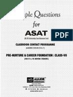 ASAT CLASS VII