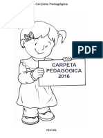 Carpeta Pedagógica - Inicial 1