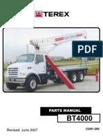 BT4000 Parts