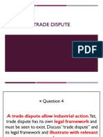 Trade Dispute