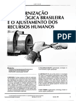 A modernização Tecnológica Brasileira  e o Ajustamento de RH.pdf
