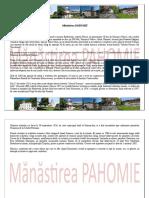 Mănăstirea Pahomie.doc