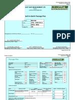 Voy 022-B - Jose to Sikka - Passage Plan