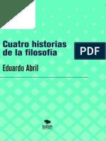 Eduardo Abril - Cuatro historias de la filosofía