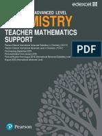 Chemistry Teacher Mathematics Support Guide
