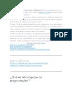 Lenguajes de Programación 2018