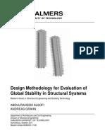 Design Methodology for Evaluation of Global System