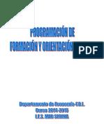 Programacion Universidad Laboral Malaga.