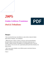 200% Lindas Lésbicas Femininas - Oral e Tribadismo (Thiago Vieira)