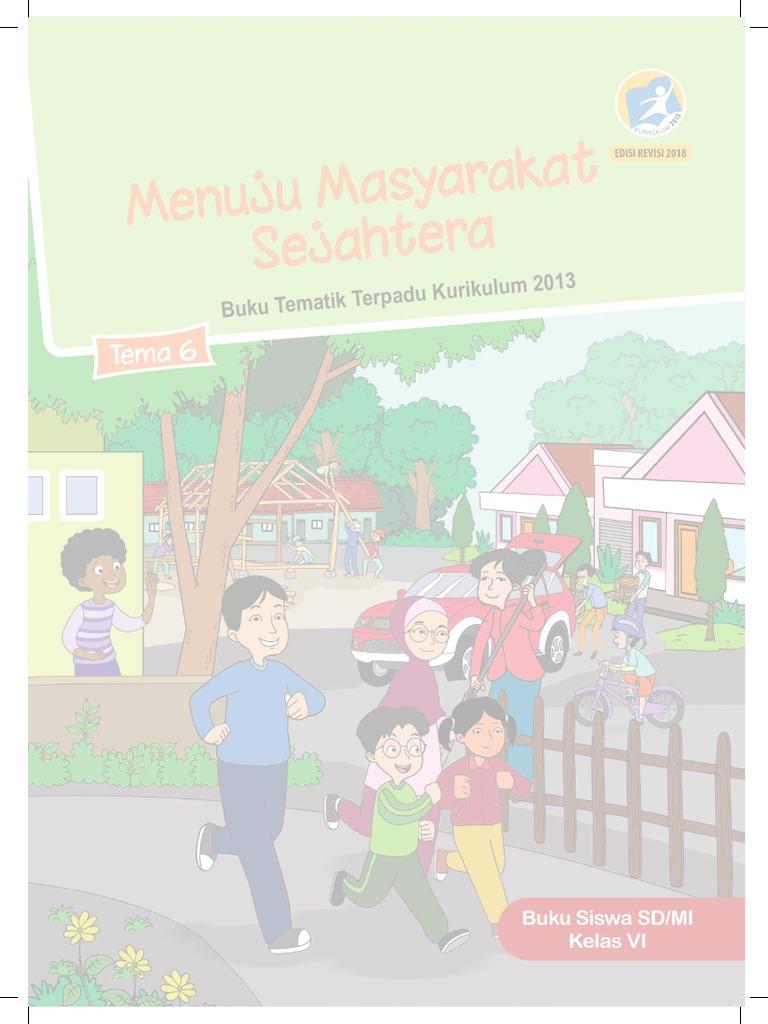 buku tematik kelas 6 tema 6