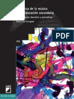 Didáctica de la música en la educación secundaria. Competencias docentes y aprendizaje - Josep Lluis Zaragoza Muñoz.pdf