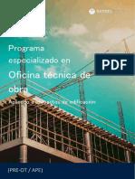 Oficina Técnica de Obra 2019