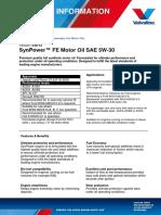 Valvoline SynPower FE 5W 30 038 13