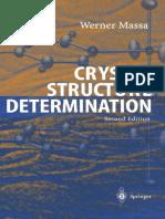 2004 Book CrystalStructureDetermination