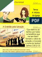 3a Aula_Slides_ADO_A Vitoria Da Igreja Fiel_A Gratidao Pela Salvacao