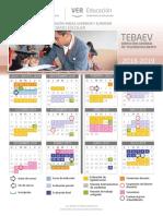 Tebaev Calendario 2018 2019 Final