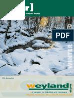 [w.i.r] WINTER 2009 GRUPPE. Weyland s Interner Report. 22. Ausgabe. [Weyland - Carl Steiner - Haustechnik KG - Stahl Eberhardt]