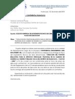 Cartas a Para Firma de Contrato