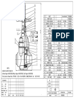 Drawing(Data Sheet) 4 in 5000psi Mud Valve Butt Welded End