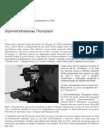 Submetralhadoras Thompson _ Armas on-Line