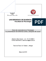 Tesis de grado de Lic. en Psicología por Alan Couce (2015)
