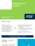 OSSii Overview