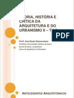 Aula 1 - Antecedentes Historicos