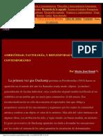 Arte Ambiguedad y Tautologia. Majo Rossi