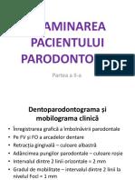 12.Examinarea Pacientului Parodontopat Partea2 Indici Examene Complementare