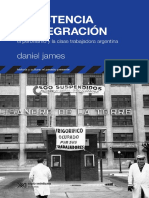 Daniel James - El Peronismo y La Clase Trabajadora