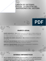 Aplicación de Sistemas Informáticos - La Gestión Del