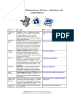 Freely Available Epidemiologic Software and Calculators.pdf