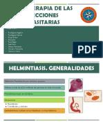 2. Quimioterapia de Las Infecciones Parasitarias