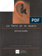 Husserl, Edmund - La Tierra no se mueve.pdf