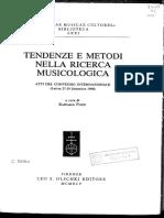 Tendenze e Metodi _ Pozzi