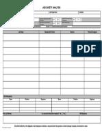 JSA Form Draft