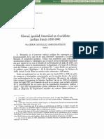 Sobre la ley como  instrumento de certeza en la revolucion