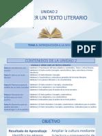 Unit 2-Tema 1- Texto Escrito