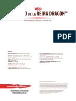 D&D® Suplemento ONLINE - El Tesoro de la Reina Dragón™