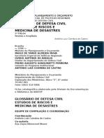 RRD - Terminologia Defesa Civil