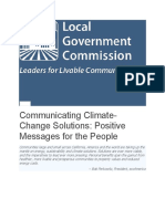 Communicating Climate-Change Solutions