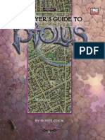 D20 - SSS - MHP - Ptolus - A Player's Guide to Ptolus