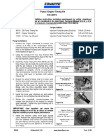 Stanadyne de Pump Timing Instructions