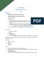 Class Note HU101 (Module -1 Grammar -Voice and Narration)