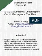 Seminar6 Decoding Occult Messages in Matrix2