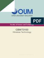 CBWT3103 Wireless Technology
