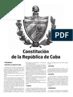 Nueva Constitución Cubana