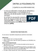 Vacuna Contra La Poliomielitis