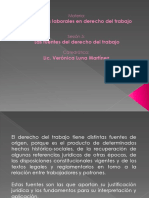 Exposición Fuentes Del Derecho